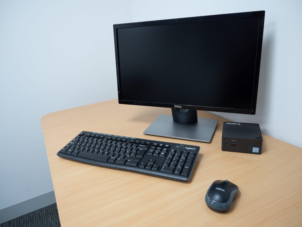 Really Small Computer on desk